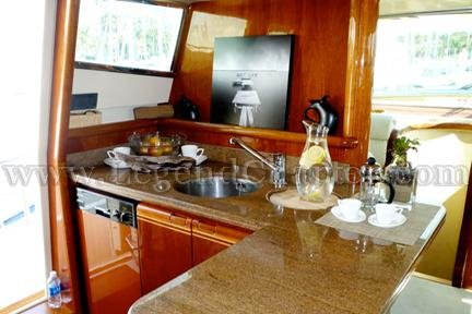 Party Yacht Galley